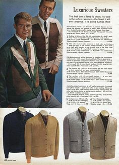 Image result for man 1960s sears catalogue