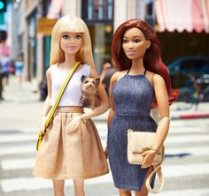 Barbie with friends