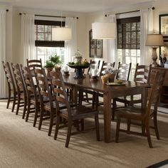 Cool Beautiful Large Dining Room Table Seats For Home