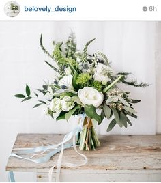 Simple white with thistle