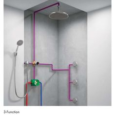Hansgrohe 01850 iBox Universal Plus Rough In Valve with Service Stop for Hansgrohe and Axor Shower Trims Only, Size: One size Bathroom Plans, Bathroom Renos, Modern Bathroom, Small Bathroom, Bathroom Renovations, Master Bathroom, Bathroom Ideas, Upstairs Bathrooms, Basement Bathroom