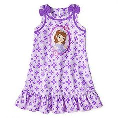 VESTIDO PARA NIÑA DISNEY PRINCESA SOFIA - SOFIA THE FIRST
