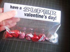 Super Valentines Day - free printable