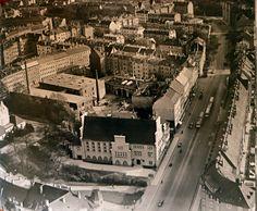 Brandstraße in Connewitz Hansa Luftbild, ca. 1930