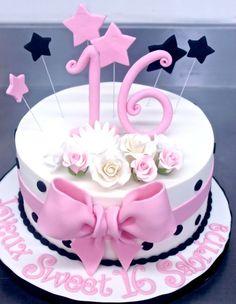 Sweet 16 Cakes | Patisserie Tillemont | Montreal - Sabrina's Pink