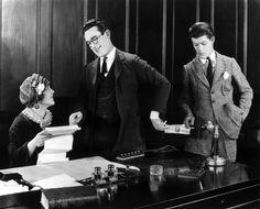 "Mildred Davis, Harold Lloyd in ""Safety Last!"" (Fred C. Newmeyer, Sam Taylor, USA 1923)"