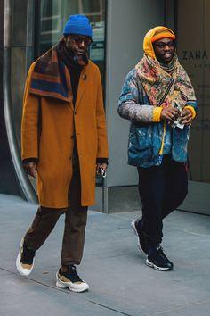 New York Menswear Shows Street Style 2018 | British Vogue