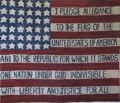 Pollypledgerug..... I know this is not a quilt but it is an inspiration for a Patriotic Flag Quilt.