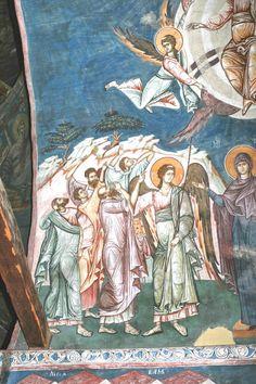 Christian Art, Color Pallets, Fresco, Vignettes, Angels, Painting, Beautiful, Color Palettes, Fresh