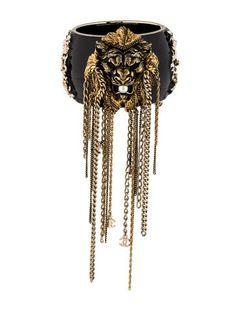 Chanel Lion Fringe Cuff