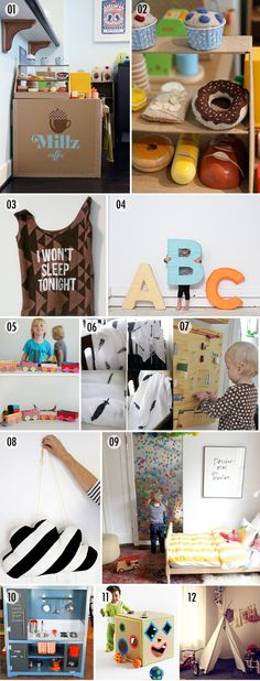 Love the metal sheet with all the letter magnets...