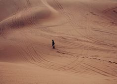 desert and alone image