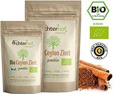 Bio Ceylon Zimt gemahlen (250g) mit wenig Cumarin in premium Qualität | 100% ECHTES Bio Ceylon Zimt Pulver: Amazon.de: Lebensmittel & Getränke