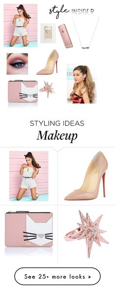 """Untitled #95"" by carlarios101 on Polyvore featuring Lipsy, Christian Louboutin, CC SKYE, Karl Lagerfeld, ASOS, contestentry and styleinsider"