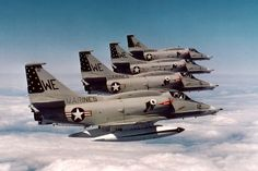 Douglas A-4 Skyhawk | Gegen den Trend (Teil 2) A-4 Skyhawk im Einsatz
