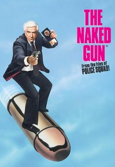 Neilson's first Lt Frank Drebin Film Best Movies To See, Good Comedy Movies, Best Movies List, Really Good Movies, 80s Movies, Great Movies, Movies To Watch, Famous Movies, See Movie