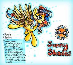 Sunny Shades (OC) by frostykat13 on DeviantArt