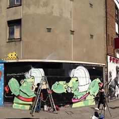 Onesto @item72forcollectors live painting at @redprojectlnd in Old street London part of Lata street culture festival . Organized by @braziliarty @aliciabastosin and @pigment_ @anserbis with support by @alfreshcodave @brasilobserver @lsdmagazine @redprojectlnd . Thanks @hookedblog  @ldngraffiti @mark_hat . #pigmentlondon #latastreetculturefestival #lata #london #latafestival #redgallery #brazil #sp #rua by pigment_