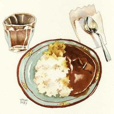 Fruit Illustration, Food Illustrations, Food Sketch, Watercolor Food, Food Painting, Food Journal, Food Drawing, Food Humor, Dessert Drinks