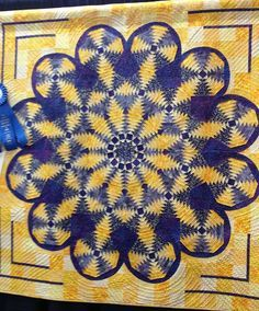 Beautiful Pineapple Quilt photo from Mountain Quiltfest Quilt Show in Pigeon Forge, Tennessee 2013