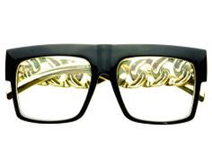 Celebrity Bling Swag Clear Lens Eyeglasses Frames by FREYRS
