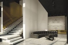 Alexander Wang store  : Architect Joseph Dirand designed the space as if it were a sculpture project