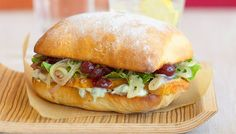 12 Tempting Sandwiches Using Holiday Dinner Leftovers Gourmet Sandwiches, Holiday Recipes, Holiday Meals, Holiday Dinner, Salmon Burgers, Nom Nom, Yummy Food, Chicken, Cooking