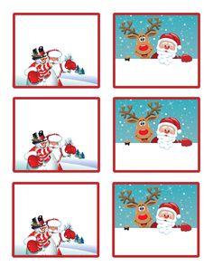 Brand New Free Printable Christmas Gift Tags!! Enjoy!