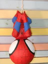 Resultado de imagen para piñatas de hombre araña
