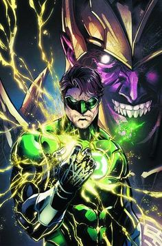 Hal Jordan and Sinestro: Used for purposes of illustration in an educational article about the...