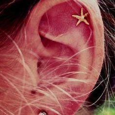 Minimalist's Favourite Helix Piercing Jewelry Stud at MyBodiArt