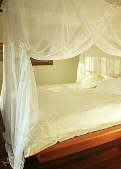 Mosquito Net | Queen Size | Box Shape | Queen Bed net and Canopy Four Poster Bed Frame, 4 Poster Beds, Mosquito Net Bed, Bed Net, Bamboo Poles, Glass Barn Doors, Queen Size Bedding, Cotton Bedding, Boxing