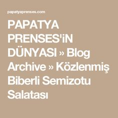 PAPATYA PRENSES'iN DÜNYASI » Blog Archive » Közlenmiş Biberli Semizotu Salatası