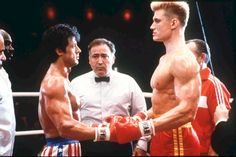 Rocky 4 Sylvester Stallone (Rocky) face à Ivan Drago (Dolph Lundgren) 80s Movies, Great Movies, Disney Movies, I Movie, Movies Free, Movie Place, Awesome Movies, Action Movies, Movie Blog