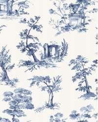 Tesatura draperie Anjou Azov  C albastra