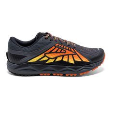 size 40 dd1a1 14ee5 Brooks Men s Caldera Trail Running Shoes (Anthracite Red Orange Black, Size  - Men s Running Shoes at Academy Sports