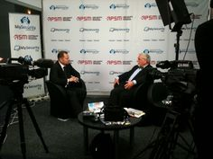 My Security TV interviewing Honeywell Security Group