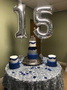 Quince Cakes, Quinceanera Cakes, Hanukkah, Birthday Candles, Home Decor, Decoration Home, Room Decor, Home Interior Design, Home Decoration