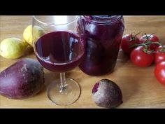 Zakwas z czerwonych buraczków Fermented Foods, Health Remedies, Red Wine, Health Tips, Healthy Recipes, Healthy Food, Alcoholic Drinks, Veggies, Menu