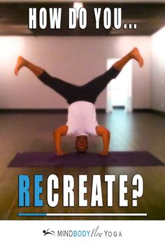 Slow down & (re)create. How do you like to recharge & refresh your perspective on life?