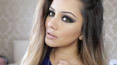 Drugstore Black Smokey Eye Tutorial | Kaushal Beauty