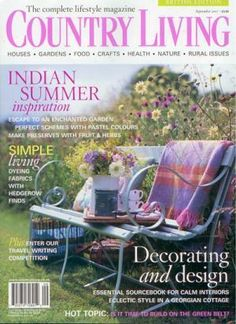 Love Country Living magazine!