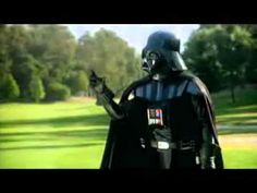 Funny Darth Vader Golf Commercial: I need to learn how to use the 'force'.  LOL