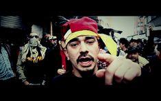 En este artículo, Christopher Dennis habla sobre las razones sociales y políticas de la música rap latinoamericana. Tiene muchas razones para creer que el rap es bueno para una comunidad latinoamericana, pero proviene de un mal lugar. Los jóvenes claman por ayuda en tiempos de opresión y agitación política. Los resultados del rap involviendo los miembros de las pandillas no deben tomarse a la ligera, pero hay pequeños y positivos cambios que el rap ha hecho en las comunidades… Freestyle Rap, Rap Logo, Trap Rap, Hip Hop, Joker, In This Moment, Youtube, Fictional Characters, Beats