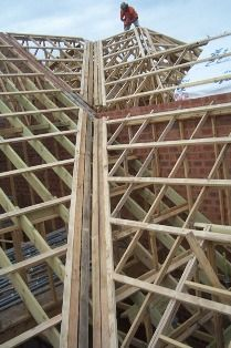 A Small Cut Dormer Roof From The Uk Carpentry Picture