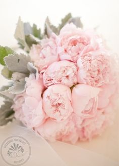 Pink Peonies| Ballet wedding bouquet