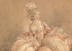 """daughterofchaos: """"Detail of Yes or No by Jean-Michel Moreau, ca. 1778 """""""
