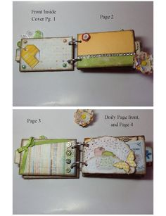 "Mini Album ""When I Think of You"" ... Upcycled TP Rolls ..toilet paper.. Adorable"