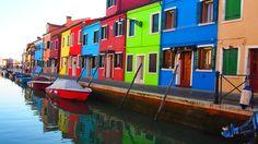 Burano la isla de las casas de colores de Venecia