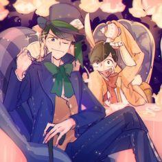 Osomatsu-san- Karamatsu and Jyushimatsu #Anime「♡」Wonderland